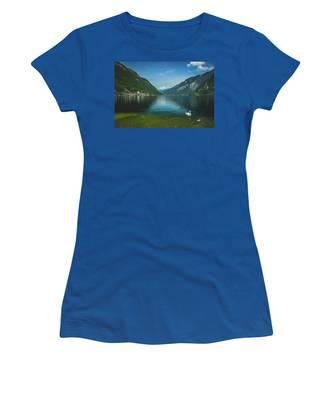 Lake Hallstatt Swans Women's T-Shirt