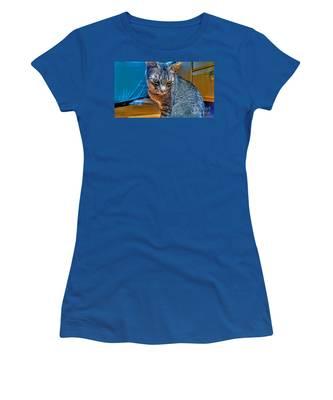 Le Chat Bleu Women's T-Shirt