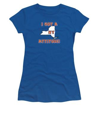 Ny Attitude-mets Colors Women's T-Shirt