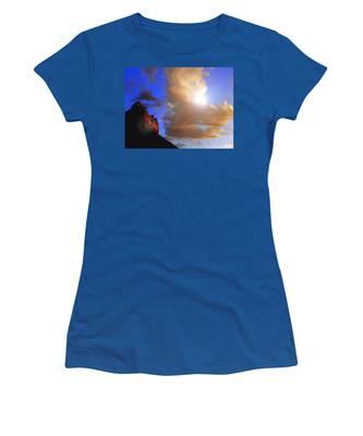 Sedona Mountain Cloud Sun Women's T-Shirt
