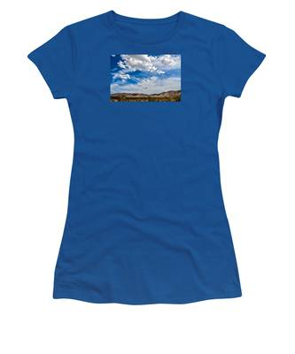 Women's T-Shirt featuring the photograph The Sky by Break The Silhouette