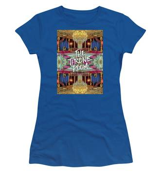 The Throne Room Fontainebleau Chateau Gorgeous Royal Interior Women's T-Shirt