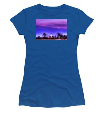 View Of San Giorgio Lomellina Women's T-Shirt