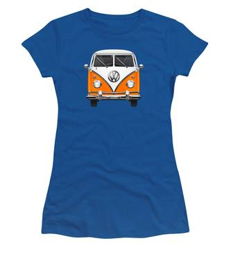 Orange Women's T-Shirts