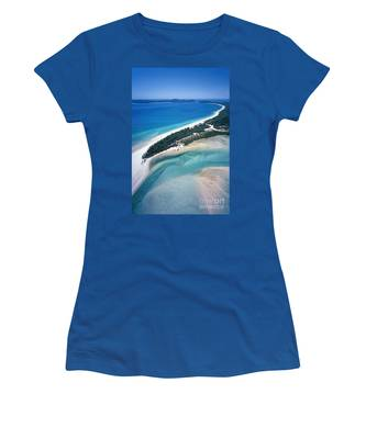Women's T-Shirt featuring the photograph Whitsunday Islands by Juergen Held