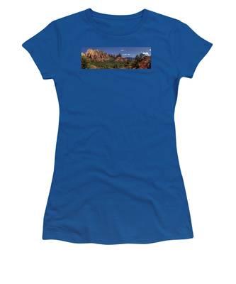 Mormon Canyon Panorama Women's T-Shirt