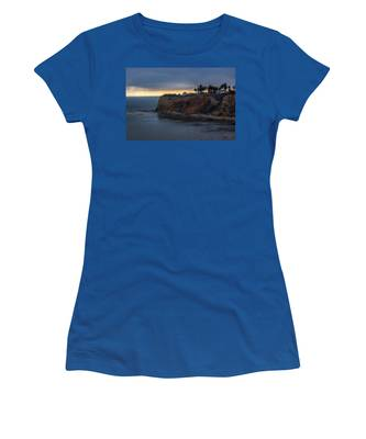 Point Vicente Lighthouse At Sunset Women's T-Shirt