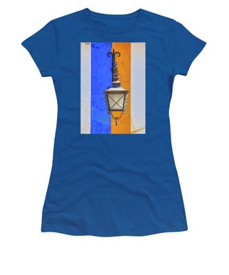 Street Lamp Of Obidos Women's T-Shirt