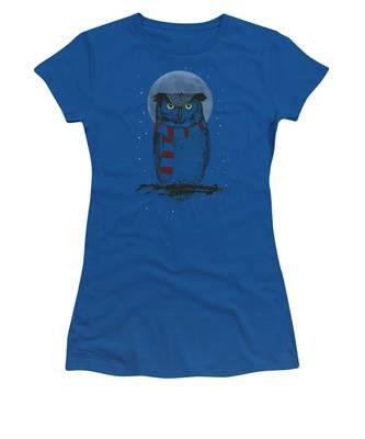 Night Women's T-Shirts