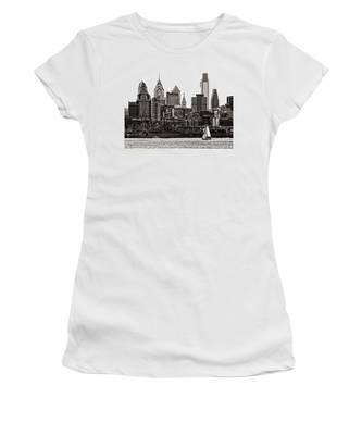 Center City Philadelphia Women's T-Shirt