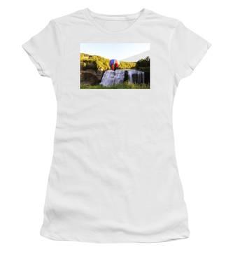A Ride Over The Falls Women's T-Shirt