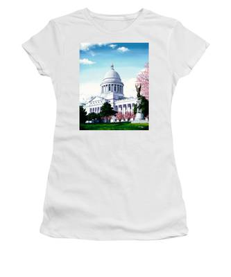 Arkansas Capitol Blossoms Women's T-Shirt