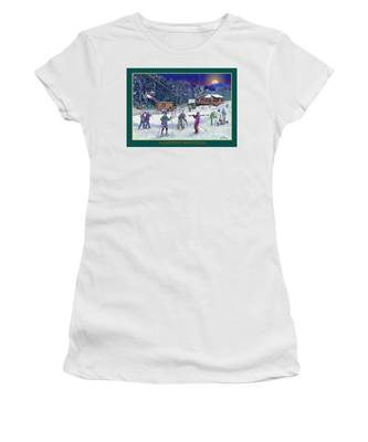 Campton Mountain Ski Area Women's T-Shirt