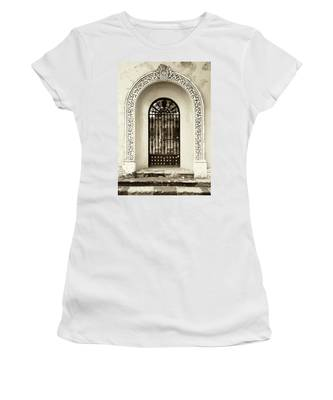 Door With Decorated Arch Women's T-Shirt