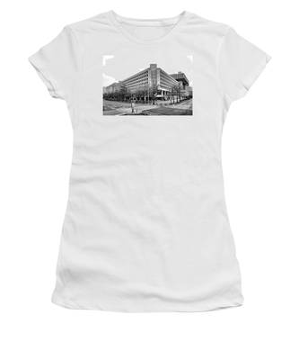 Fbi Building Front View Women's T-Shirt