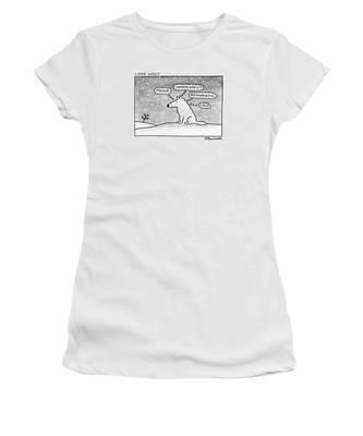 Lone Wolf: Women's T-Shirt