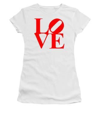 Love 20130707 Red White Women's T-Shirt