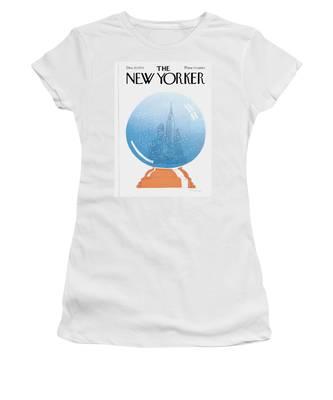 New Yorker December 22nd, 1975 Women's T-Shirt