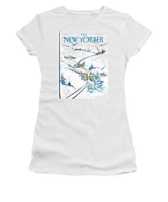 New Yorker December 8th, 1986 Women's T-Shirt