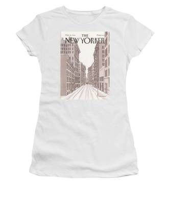 New Yorker February 10th, 1986 Women's T-Shirt