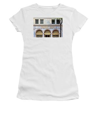 Women's T-Shirt featuring the photograph Old Ebbitt Grill by Jemmy Archer