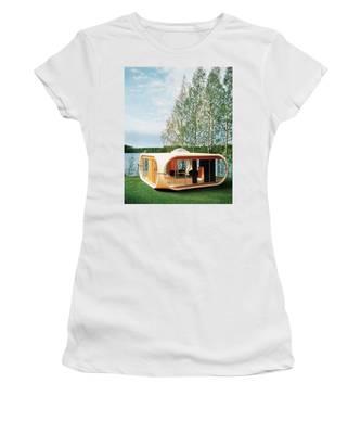 Prototype Of Polykem Molded House Women's T-Shirt