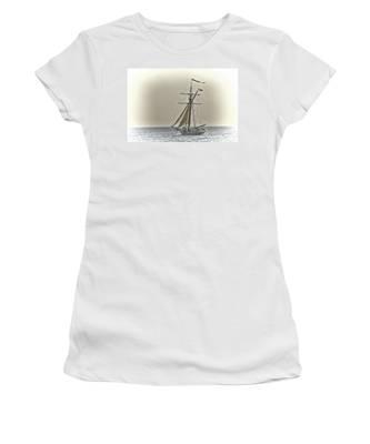 Sailing Off Women's T-Shirt