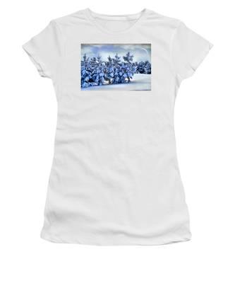 Winter Serenity  Women's T-Shirt