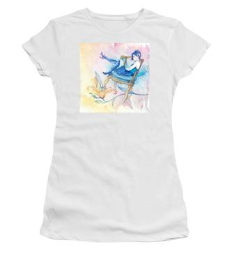 With Head In The Clouds Women's T-Shirt
