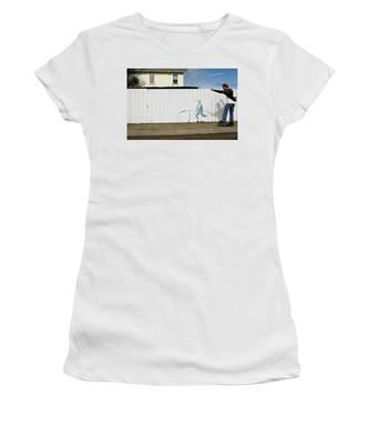 Downhill Buddy Women's T-Shirt