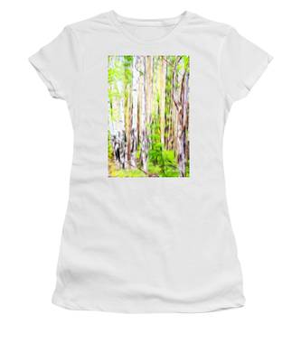 Out Of One Many Fractal Women's T-Shirt