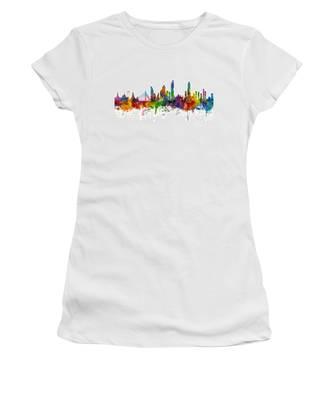 Bangkok Thailand Skyline Women's T-Shirt