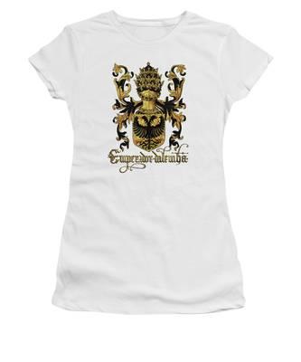 Europe Women's T-Shirts
