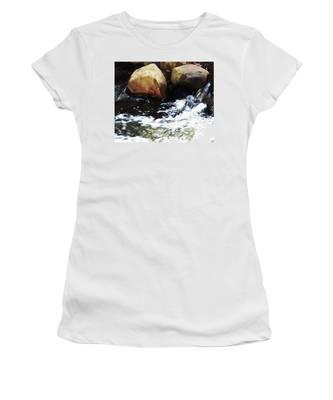 Waterfall Abstract Women's T-Shirt