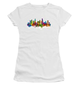 Los Angeles California Skyline Women's T-Shirt