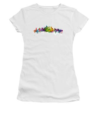 Philadelphia Pennsylvania Skyline Women's T-Shirt