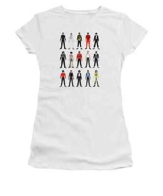 Michael Jackson King Of Pop Women's T-Shirts