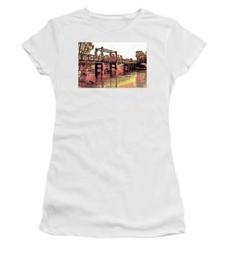 Bridge Over Murray River Women's T-Shirt