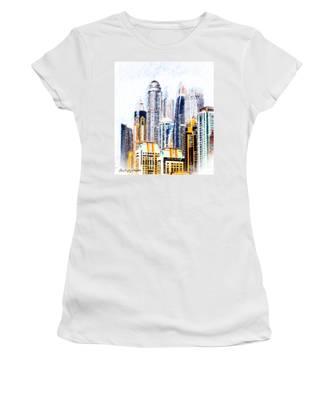 City Abstract Women's T-Shirt