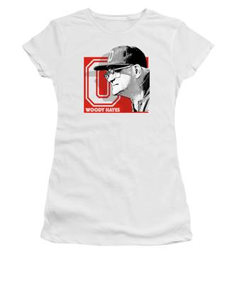 Coach Woody Hayes Women's T-Shirt
