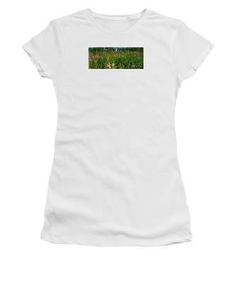 Country Wildflowers IIi Women's T-Shirt