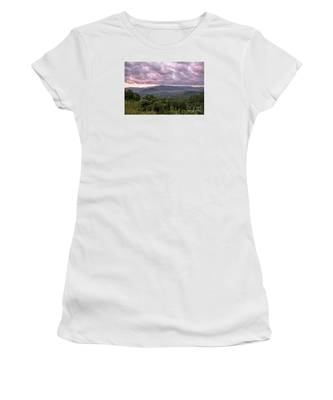 Dawn On The Foothills Parkway Women's T-Shirt by Jemmy Archer