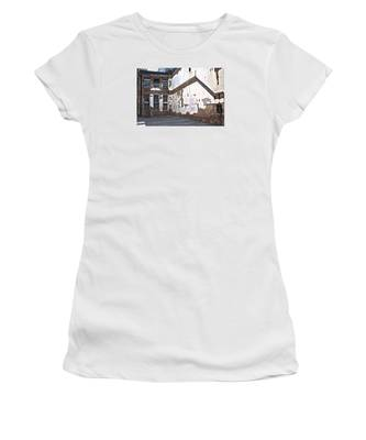 Women's T-Shirt featuring the photograph Deteriorated by Break The Silhouette