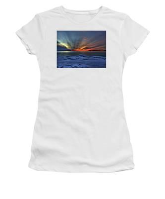 Eastern Lights  Women's T-Shirt