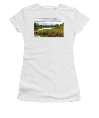 fort Clatsop on the Columbia River Women's T-Shirt