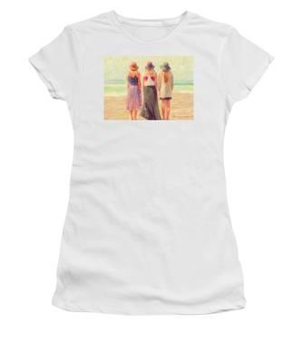 Girlfriends At The Beach Women's T-Shirt