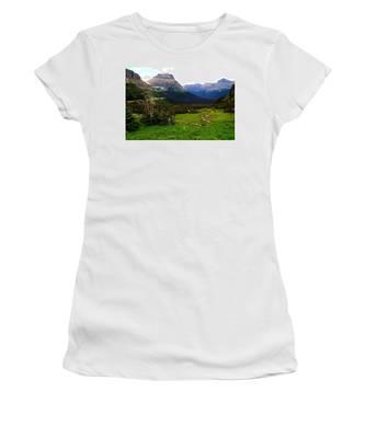 Going To The Sun Road Women's T-Shirt