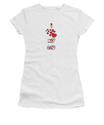 I Love My God Women's T-Shirt
