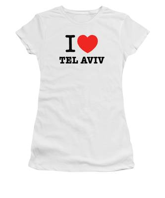 i love Tel Aviv Women's T-Shirt