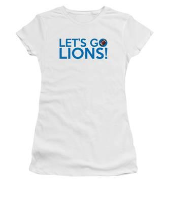 Let's Go Lions Women's T-Shirt